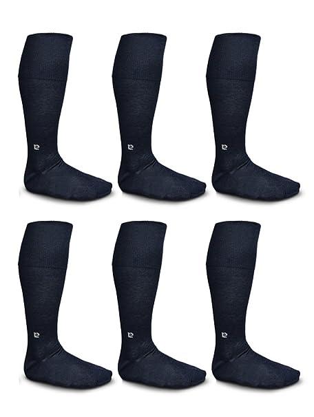 6 calcetines PIERRE CARDIN largos para hombre hilo de Escocia francés (TG 39/41