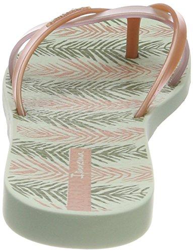 en Tongs rose vert Ipanema multicolore Kirei III Silk pour femmes 8665 soie noir Prtrx