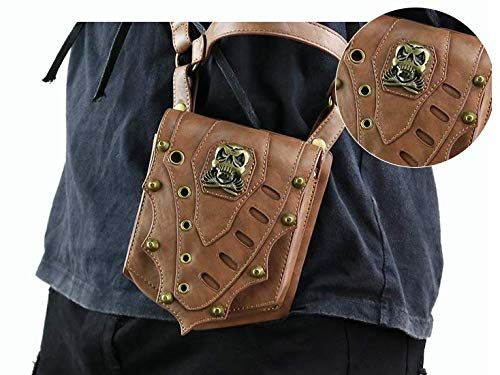 Steampunk Wei Fashion Women's Retro Pocket Pouch Personality Zhe wPPBcTrz