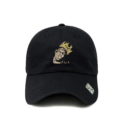 ChoKoLids Biggie Dad Hat Cotton Baseball Cap Polo Style Low Profile 12  Colors (Black) b5278feb035