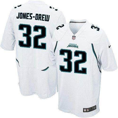 - Maurice Jones-Drew Jersey: Jacksonville Jaguars #32 Game White NFL Jersey