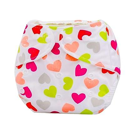 Pañales Bebé recién nacido Paño de verano lavable reutilizable ...