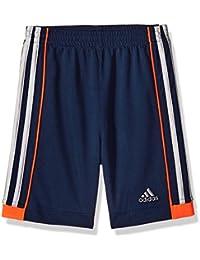 Little Boys' Athletic Short, Navy/Orange, Navy/Orange