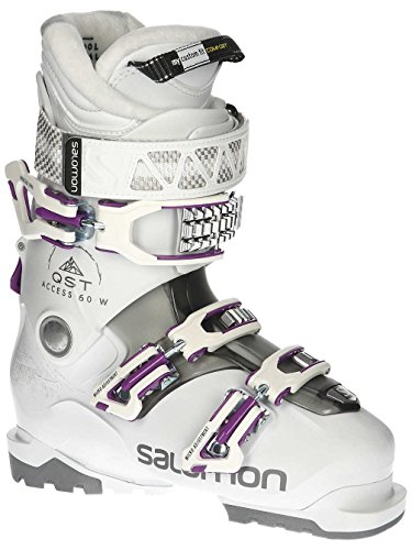 Salomon QST Access 60 W Womens Ski Boots 2019-27.5/White-Anthracite Translucent-P