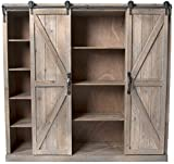 Rolling Door Cabinet - 46 inches