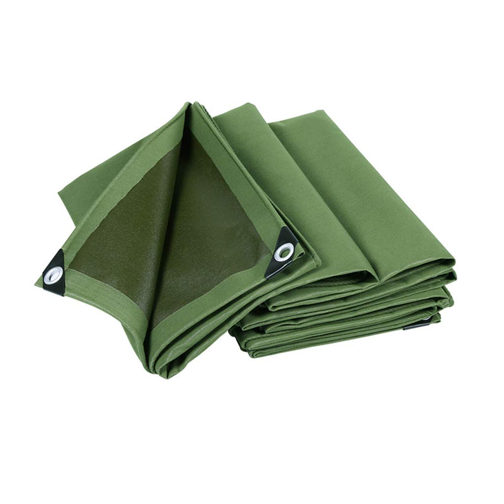 Thicken Canvas Tarpaulin, Tarpaulin Truck Shade Cloth Outdoor Rainproof Cloth Shed Cloth Crop Rainproof Cloth