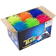 Premium Quality Large & Thick Puffer Balls for Kids (Set of 12)
