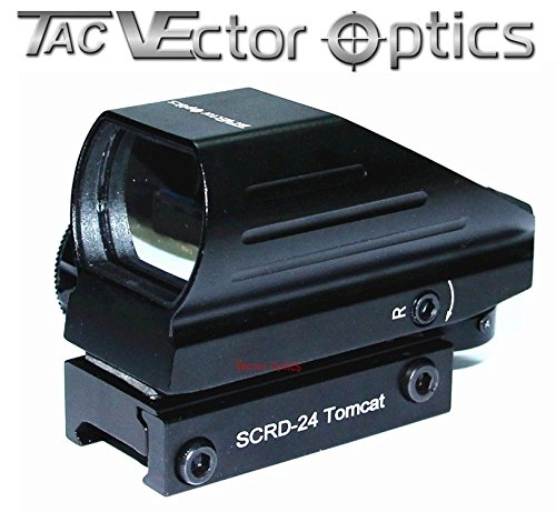 TAC Vector Optics Tomcat 1x22x33 Red/Green Multi-Reticle Reflex Sight