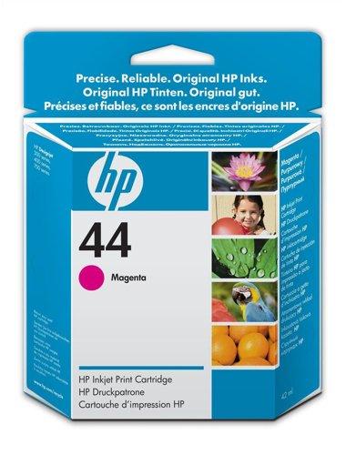 Hewlett Packard [HP] No. 44 Inkjet Cartridge Page Life 840pp 39ml Magenta Ref 51644ME