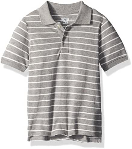 The Children's Place Baby Boys' Short Sleeve Striped Polo