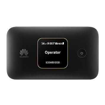 Huawei e5785lh-22-c 4G (e5785) LTE CAT6 Mobile Router, Hotspot, Farbe. Smartphones:Schwarz (Black): Amazon.es: Informática