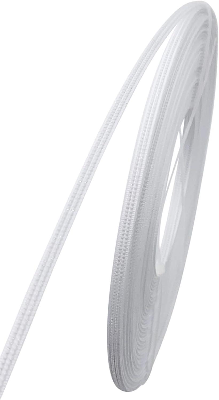 Performance-Kleiden 4 mm breit Bankettkleidern Stillm/ützen usw. Polyester-St/äbchen 22,7 m pro Rolle Korsetts Wei/ß Brautkleidern zum N/ähen von Hochzeitskleidern