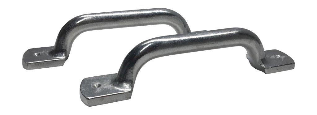 Hillside Castings One Pair Cast Aluminum Heavy Duty Stern Handles