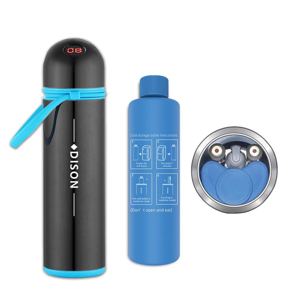 Dison Care Insulin Cooler Travel Case Medication Cooling Bag, Black