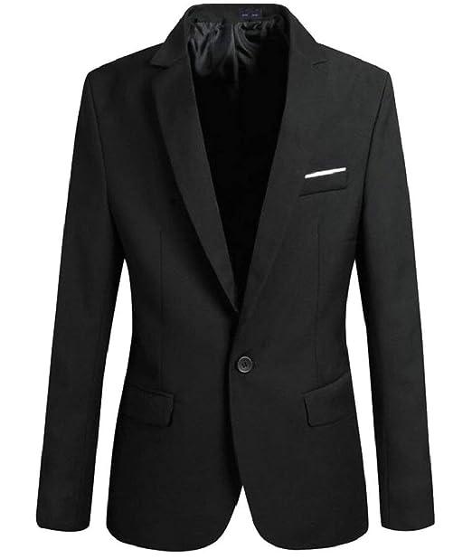 Blazer Blazer para Hombres Elegante Fit Smoking para Chaqueta Slim Hombres De La Mode De Marca Vendimia Solapa Chaqueta De Manga Larga Chaqueta para ...