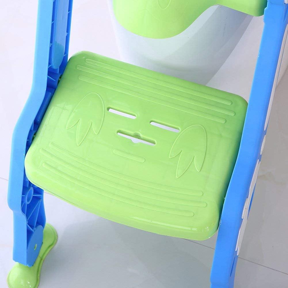 Amarillo Cloudwalk Orinal Adaptador Asiento WC con Escalera Ni/ños Reductor Bebe