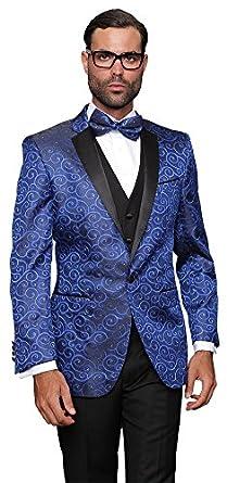 MYS - Traje - para hombre Azul azul 42: Amazon.es: Ropa y ...