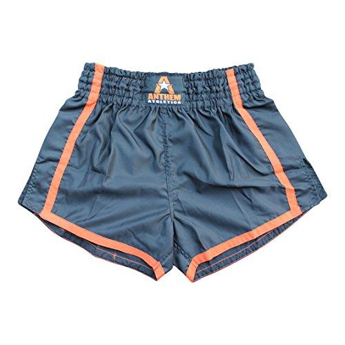 NEW! Anthem Athletics RESOLUTE Muay Thai Shorts - Kickboxing, Thai Boxing - Black & Orange - Medium