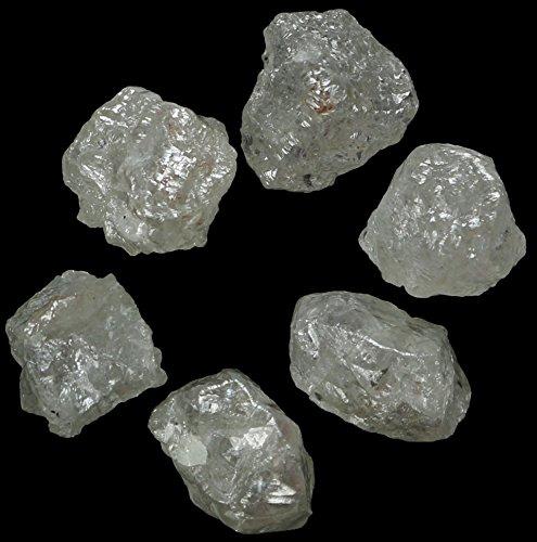 Natural Loose Diamonds Silver Grey Color Uncut Raw Rough 1.00 Carats + Q171 by lukhidiamond (Image #1)