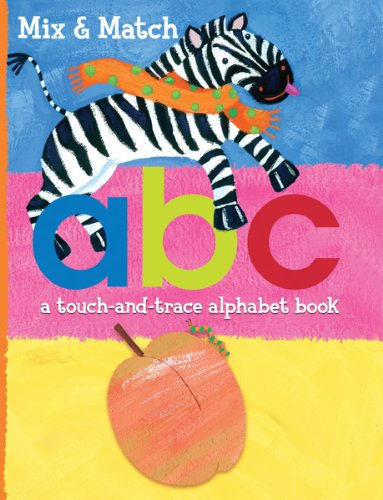 Mix & Match: A B C: A Touch and Trace Alphabet - Brown To How Color Mix