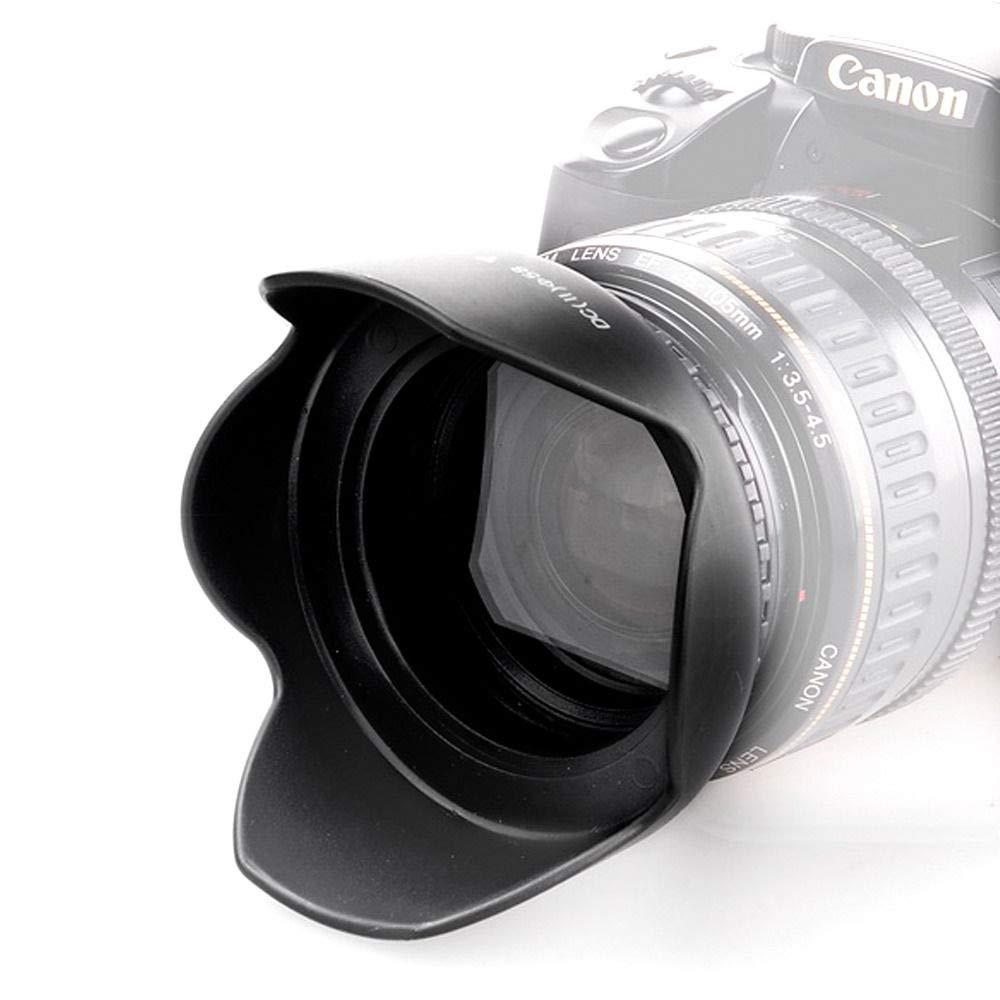 52mm Flower Petal Tulip Lens Hood Screw Mount for Canon Nikon d5200 d5300 d3200 d3300 d3100 d7000 d7100