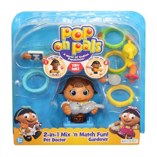 Pop On Pals Pal Pack Pet Doctor/Gardener