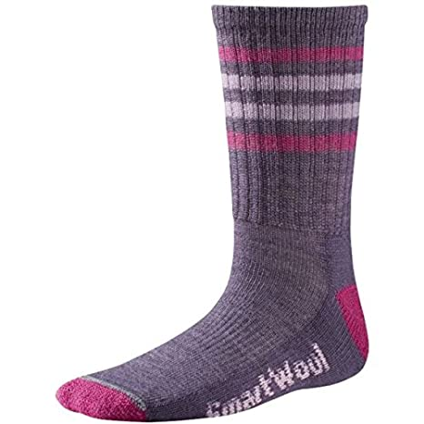 Smartwool Striped Hike Light Crew Performance Socks