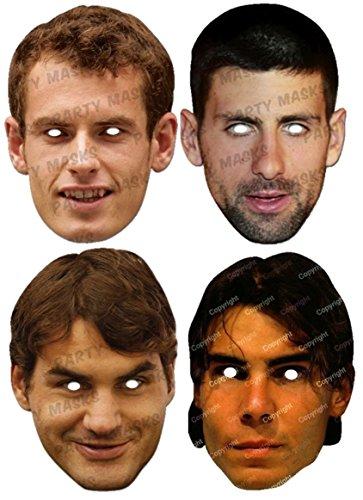 tennis-players-mask-pack-includes-4-masks-andy-murray-novak-djokovic-roger-federer-and-rafael-nadal