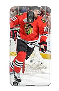 Galaxy Note 3 XmHbuVY8263wUBXy Chicago Blackhawks (131) Tpu Silicone Gel Case Cover. Fits Galaxy Note 3