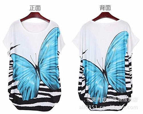 Qiyun 3008S0007 - Vestido para mujer Azul