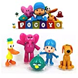 5pcs Pocoyo Cake Decoration topper Playset Doll Figures Toys= U.S. SELLER