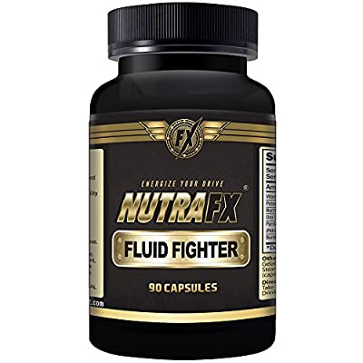 Nutrafx Fluid Fighter | MOST POTENT ANTI WATER RETENTION PILLS | 297 MG POTASSIUM CITRATE | WITH VITAMIN B-6 | FOR FITNESS | GENERAL HEALTH Capsules Powerful Herbal Diuretic (180 Capsules)