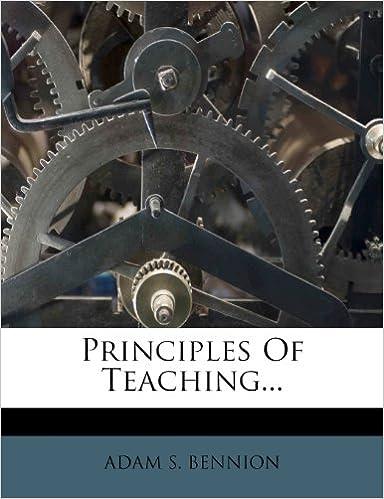 Principles Of Teaching...