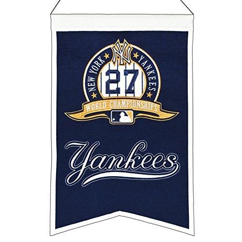 Winning Streak MLB New York Yankees 27 Time WS Champions Banner, One Size