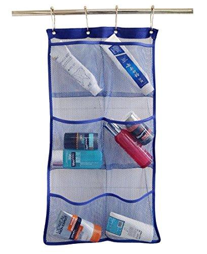 ALDECOR Mesh Shower Caddy Bathroom Accessories Organizer wit