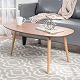 Caspar Natural Wood Coffee Table