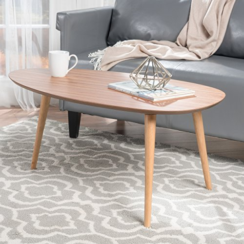 Modern Coffee Wood Tables (Caspar Natural Wood Coffee Table)