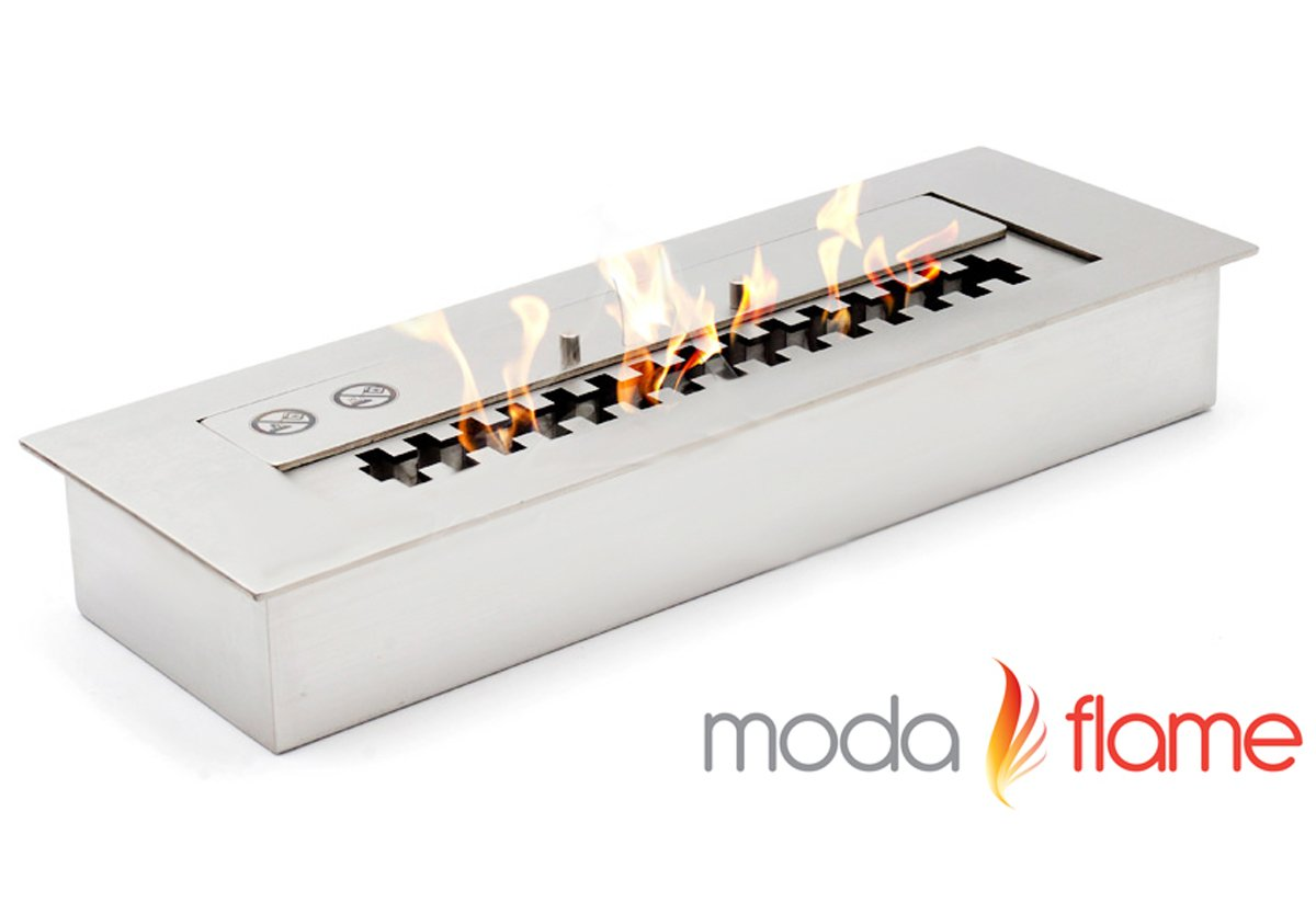 Superior Moda Flame Pro 24u2033 Ethanol Fireplace Burner Insert