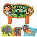 Go Diego Go Birthday Candles - Set of 4