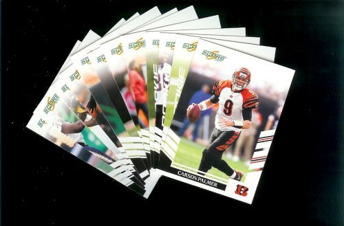 2007 Score Cincinnati Bengals Team Set of 12 cards - Includes Carson Palmer, Chad Johnson, Kenny Irons Rookie and more -Shipped In Protective Storage Box! (Kenny Irons)