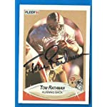 ed61790948e TOM RATHMAN Signed Autographed 1990 Fleer JSA Stamp Card San Francisco  49ers.