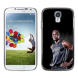 Miami 50 Baloncesto - Metal de aluminio y de plástico duro Caja del teléfono - Negro - Samsung Galaxy S4