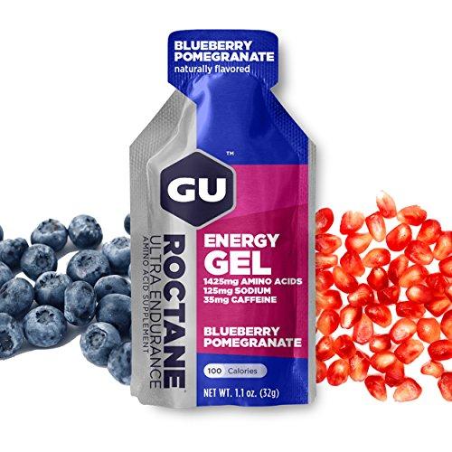 Gu Roctane Ultra Endurance Energy Gel Blueberry