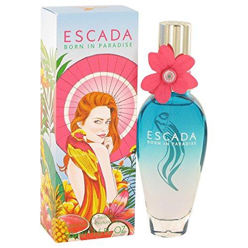 (Escadá Bòrn In Påradise Përfume For Women 1.7 oz Eau De Toilette Spray + Free Shower Gel )