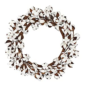 Mud Pie Cotton Wreath Home Accents 48