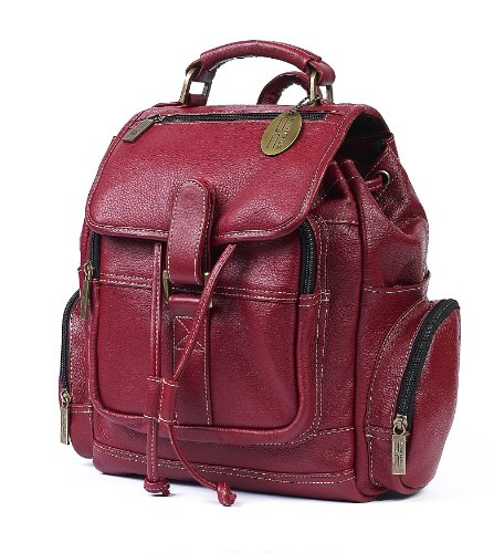 claire-chase-uptown-back-pack-red-one-size