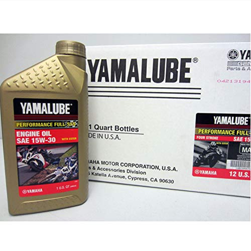 Yamaha LUB-15W30-FS-12 Yamalube 15W30 Full Synthetic for sale  Delivered anywhere in USA