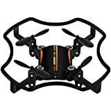 HP95(TM) F19 Mini Drone Quadcopter Aititude Hold Smart Voice 2.4G 4CH 6AXIS RC Helicopter (Orange)
