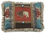 Carstens Feather Buffalo Pillow