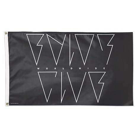 amazon com wwe finn bálor 3 x 5 logo flag sports outdoors